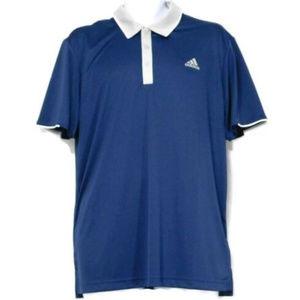 Adidas ClimaCool Short Sleeve Polo Shirt, Large